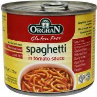 Orgran Blik Spaghetti in Tomatensaus