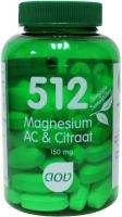 AOV 512 Magnesium AC & citraat 60 tabletten