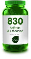AOV 830 Saffraan & l-theanine