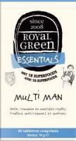 Royal Green Multi man