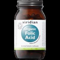 Viridian Organic folic acid 400 mcg