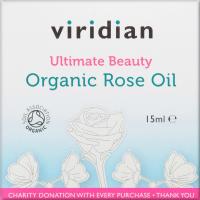 Viridian Ultimate beauty organic rose oil