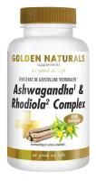 Golden Naturals Ashwagandha & Rhodiola Complex