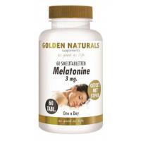 Golden Naturals Melatonine 3 mg