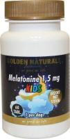 Golden Naturals Melatonine 1,5 mg kids