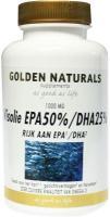 Golden Naturals Visolie EPA 50%, DHA 25% zeer zuivere kwaliteit van omega 3