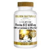 Golden Naturals Vitamine B12 mythyl debencozide 6000 mcg.