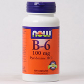 NOW Vitamine B-6 100 MG (pyridoxine HCl)