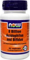 NOW Probiotica 8 Billion Acidophilus and Bifidus