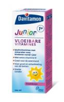 Davitamon Junior 1+ vloeibare vitamines framboos