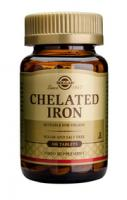 Solgar Chelated Iron tablets