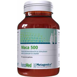 Metagenics Maca 500 mg.