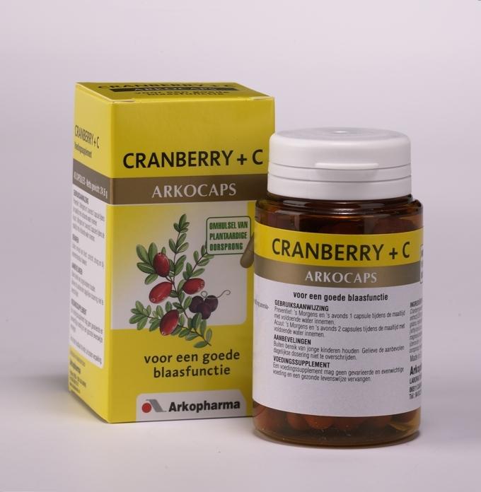 Arkocaps Cranberry + Vitamine C