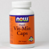 NOW Dutch Vit-Min Caps
