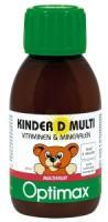 Optimax Kinder Multi vitamine D Vloeibaar