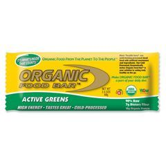Organic food Organic food bar active greens