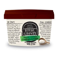 Royal Green Kokosnoot olie geurvrije cooking cream