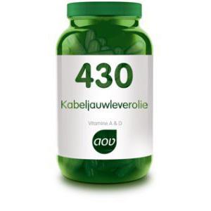 AOV 430 Kabeljauwleverolie