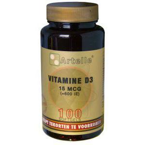 Artelle Vitamine D3   15 mcg.