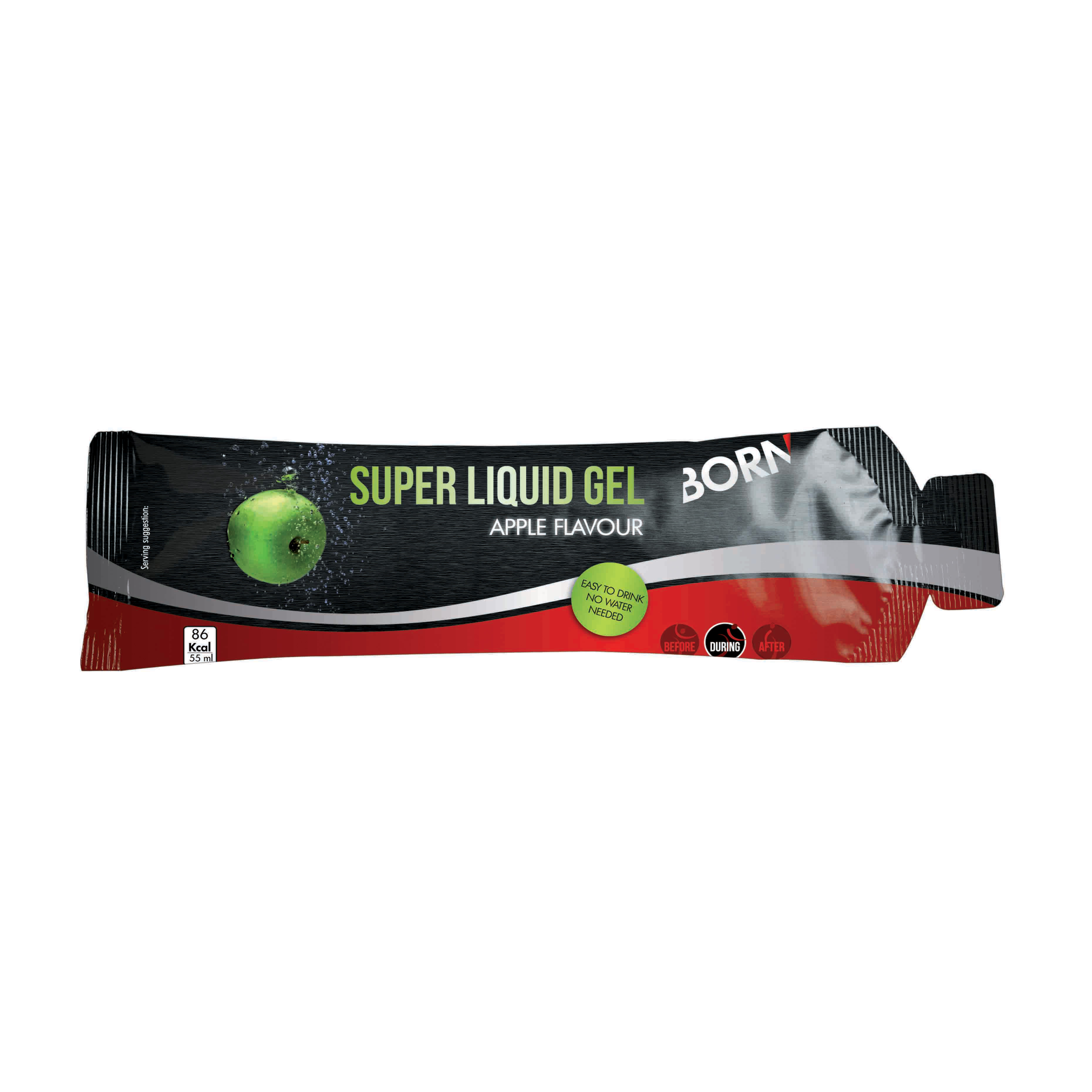 Born SUPER LIQUID GEL easy to drink/no water needed