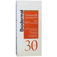 Biodermal Sun milk gevoelige huid SPF30