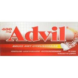 Advil 400 mg bruis
