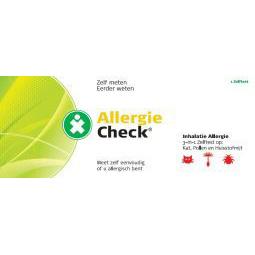 Test jezelf Allergie check 3 in 1 inhalatie