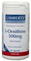 Lamberts L-Ornithine 500 mg.