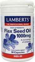 Lamberts Lijnzaad (flaxseed) 1000 mg.