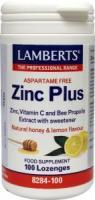 Lamberts Zink (zinc) plus zuigtabletten