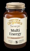 Essential Organics PlantCaps Multi Energy, voor iedereen die behoefte heeft aan extra energie