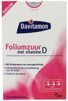 Davitamon Vitamine D + Foliumzuur