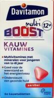 Davitamon Multiboost 12+ kauwvitamines