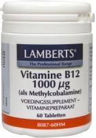 Lamberts Vitamine B12 methylcobalamine 1000 ug