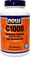 NOW C-1000 Sustained Release met rozenbottel