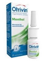 Otrivin Menthol spray 12 jaar