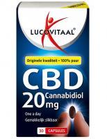 Lucovitaal Cannabidiol CBD 20 mg capsules