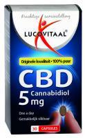 Lucovitaal Cannabidiol CBD 5 mg capsules