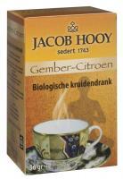 Jacob Hooy Gember citroen theezakjes