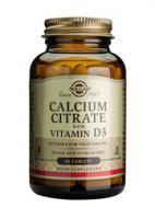 Solgar Calcium Citrate with Vitamin D
