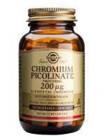 Solgar Chromium Picolinate 200 mcg