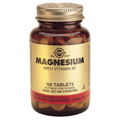 Solgar Magnesium With B-6 tablets