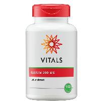 Vitals Kalium Citraat 200 mg.