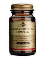 Solgar Phosphatidylserine complex 500 mg tablets