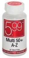 5,99 Multi A-Z 50+