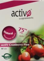 Activo Power Health Cranberry plus