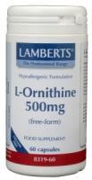 Lamberts L-Ornithine 500 mg.
