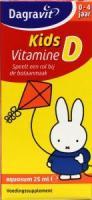 Dagravit Vitamine D10 mcg druppels aquosum kids