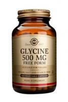 Solgar Glycine 500 mg vegetable capsules