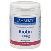 Lamberts Biotine 500 mcg